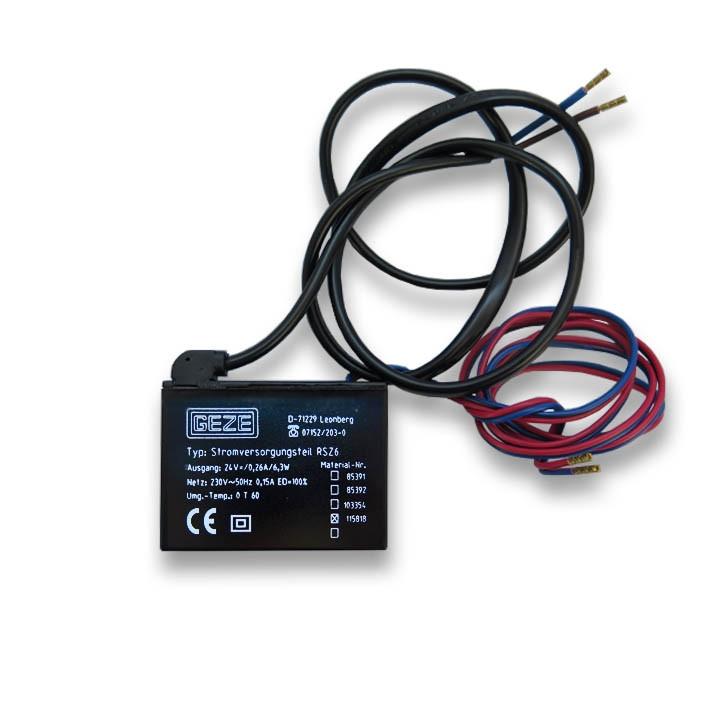 GEZE Stromversorgungsteil RSZ6 Ausführung 4 115818