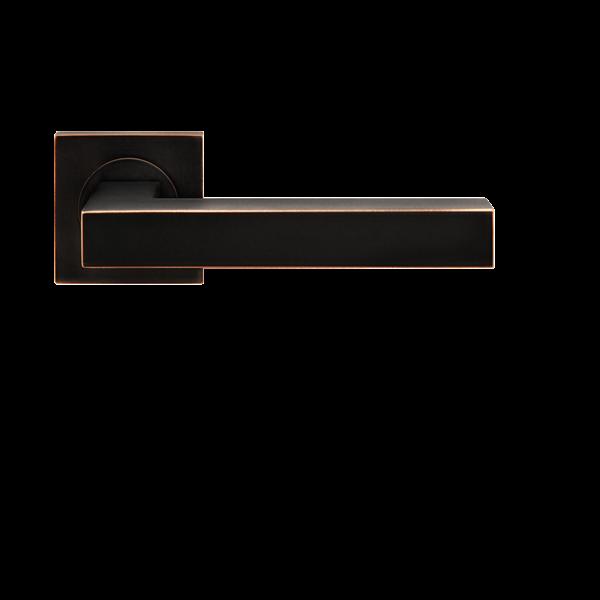ER46Q Karcher Türdrücker-Ros.-Grt. Seattle VK8  TS40  OS  Antik Bronze Optik