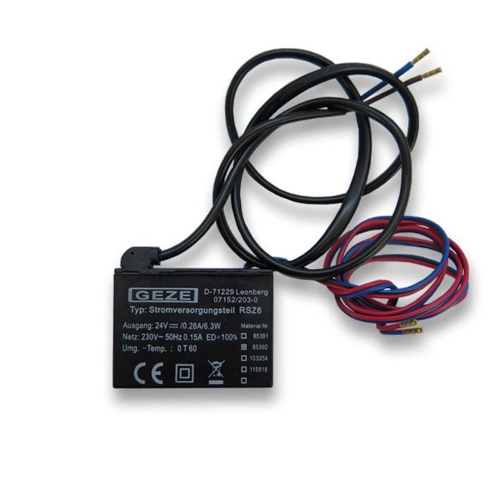 GEZE Stromversorgungsteil RSZ6 Ausführung 1 85392