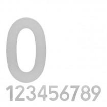 Produktvorschaubild Intersteel Hausnummer Edelstahl 20 cm