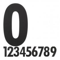 Hausnummer XL Schwarz matt Vorschaubild