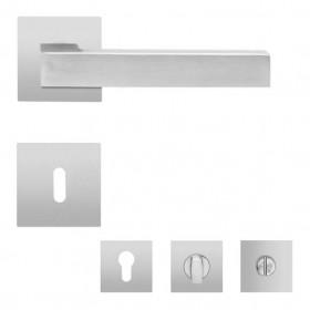 Karcher EPL46Q Seattle flächenbündige-Plan-Rosettengarnitur quadratisch Edelstahl matt